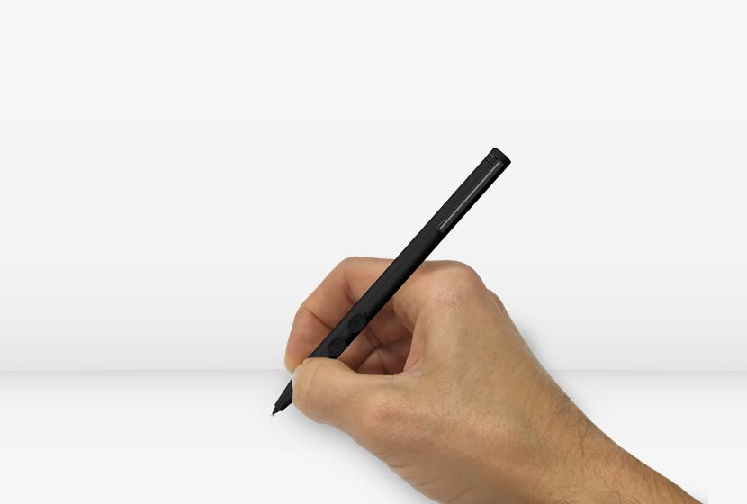 stylus-in-hand